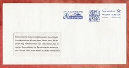 Brief, FRANKIT Pitney Bowes 4D060.., Wappen, Stauferkreis Goeppingen, 55 C, 2008 (96164) - Machine Stamps (ATM)