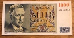 1000 Francs Eeuwfeest Xf+ 1950 Pirsoul - Frere! 7156 - [ 2] 1831-... : Koninkrijk België