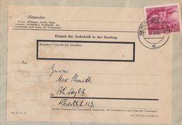 DR Brief EF Minr.908 Berlin-Steglitz 7.3.45 - Deutschland