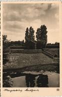 Ansichtskarte Werder-Magdeburg Stadtpark - Laubhäuschen 1937 - Germany