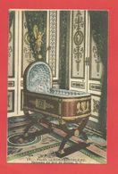 """C.P.A.  ( 77 ) """" FONTAINEBLEAU """" Palais De Fontainebleau - Berceau Du Roi De Rome  2phot. - Fontainebleau"""