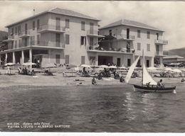 PIETRA LIGURE-SAVONA-HOTEL=SARTORE=-CARTOLINA VERA FOTOGRAFIA NON VIAGGIATA -ANNO 1955-1960 - Savona