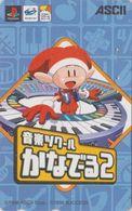 Télécarte JAPON  / 110-016 - Jeu Video - SEGA SATURN & PLAY STATION - Game JAPAN Phonecard Manga Playstation - 12126 - Spiele