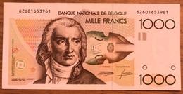 1000 Francs Gretry Demanet - Godeau Unc!! Zeldzaam In Deze Kwaliteit!! 3961 - [ 2] 1831-... : Koninkrijk België