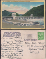 C. Postale - Fish Ladders - North Side Bonneville Dam - Circa 1940 - Circulee - A1RR2 - Etats-Unis