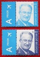 Koning Albert II OBC N° 3316-3317 (Mi 3365-3366) 2004 POSTFRIS MNH ** BELGIE BELGIEN / BELGIUM - Unused Stamps