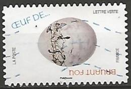 "FRANCE AUTOADHESIF N° ? OBLITERE Issu Du Carnet ""LA CHASSE AUX OEUFS"" - Francia"