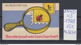 DDR Michel Kat.Nr.  SMHD  43  (Inhalt Postfr 10x3231) - [6] República Democrática