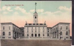 C. Postale - New City Hall - Circa 1940 - Non Circulee - A1RR2 - Portland