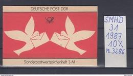 DDR Michel Kat.Nr.  SMHD  31  (Inhalt Postfr 10x3286) - [6] República Democrática