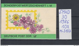 DDR Michel Kat.Nr.  SMHD  30  (Inhalt Postfr 10x3107) - [6] República Democrática