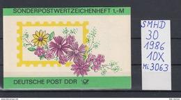 DDR Michel Kat.Nr.  SMHD  30  (Inhalt Postfr 10x3063) - [6] República Democrática