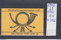 DDR Michel Kat.Nr.  SMHD  29  (Inhalt Postfr 10x3156) - [6] República Democrática