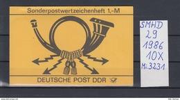 DDR Michel Kat.Nr.  SMHD  29  (Inhalt Postfr 10x3231) - [6] República Democrática