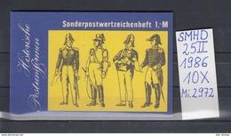 DDR Michel Kat.Nr.  SMHD Postfr 25II (Inhalt Postfr 10x2972) - [6] República Democrática