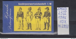 DDR Michel Kat.Nr.  SMHD Postfr 25II (Inhalt Postfr 10x2953) - [6] República Democrática