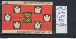 DDR Michel Kat.Nr.  SMHD Postfr 24a (Inhalt Postfr 10x2924) - [6] República Democrática