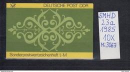 DDR Michel Kat.Nr.  SMHD Postfr 23a (Inhalt Postfr 10x3067) - [6] República Democrática