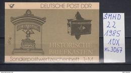 DDR Michel Kat.Nr.  SMHD Postfr 22 (Inhalt Postfr 3067) - [6] República Democrática