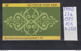 DDR Michel Kat.Nr.  SMHD Postfr 23a (Inhalt Postfr 10x2929) - [6] República Democrática