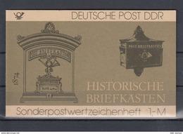 DDR Michel Kat.Nr.  SMHD Postfr 22 (Inhalt Postfr 10x2910) - [6] República Democrática
