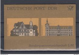 DDR Michel Kat.Nr.  SMHD Postfr 21b (Inhalt Postfr 10x3226) - [6] República Democrática