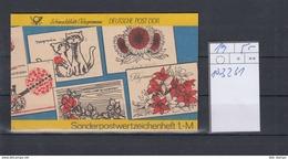 DDR Michel Kat.Nr.  SMHD Postfr 19 (Inhalt Postfr 10x3231) - [6] República Democrática