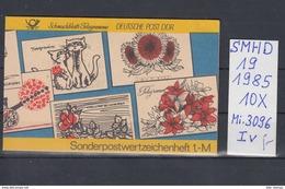 DDR Michel Kat.Nr.  SMHD Postfr 19 (Inhalt Postfr 10x3096) - [6] República Democrática