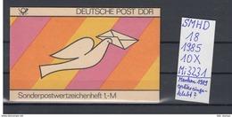 DDR Michel Kat.Nr.  SMHD Postfr 18 (Inhalt Postfr 10x3231) - [6] República Democrática