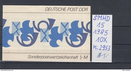 DDR Michel Kat.Nr.  SMHD Postfr 15 (Inhalt Postfr 10x2953) - [6] República Democrática