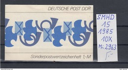 DDR Michel Kat.Nr.  SMHD Postfr 15 (Inhalt Postfr 10x2963) - [6] República Democrática