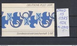DDR Michel Kat.Nr.  SMHD Postfr 15 (Inhalt Postfr 10x2910) - [6] República Democrática