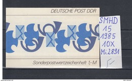 DDR Michel Kat.Nr.  SMHD Postfr 15 (Inhalt Postfr 10x2891) - [6] República Democrática