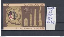DDR Michel Kat.Nr.  SMHD Postfr 13 (Inhalt Postfr 10x2923) - [6] República Democrática