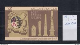 DDR Michel Kat.Nr.  SMHD Postfr 13 (Inhalt Postfr 10x2910) - [6] República Democrática
