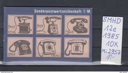 DDR Michel Kat.Nr.  SMHD Postfr 12e (Inhalt Postfr 10x2957) - [6] República Democrática