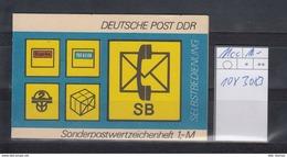DDR Michel Kat.Nr.  SMHD Postfr 11cc (Inhalt Postfr 10x3083) - [6] República Democrática