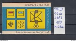DDR Michel Kat.Nr.  SMHD Postfr 11cb (Inhalt Postfr 10x2976) - [6] República Democrática