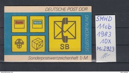 DDR Michel Kat.Nr.  SMHD Postfr 11cb (Inhalt Postfr 10x2923) - [6] República Democrática