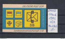 DDR Michel Kat.Nr.  SMHD Postfr 11ad (Inhalt Postfr 10x2963) - [6] República Democrática
