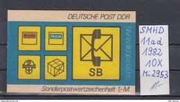 DDR Michel Kat.Nr.  SMHD Postfr 11ad (Inhalt Postfr 10x2953) - [6] República Democrática