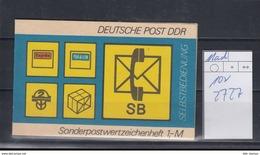 DDR Michel Kat.Nr.  SMHD Postfr 11ad (Inhalt Postfr 10x2727) - [6] República Democrática