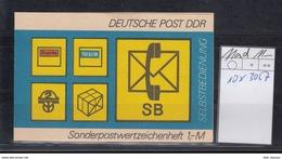 DDR Michel Kat.Nr.  SMHD Postfr 11ad (Inhalt Postfr 10x3067) - [6] República Democrática