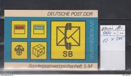 DDR Michel Kat.Nr.  SMHD Postfr 11aa (Inhalt Postfr 10x3015) - [6] República Democrática