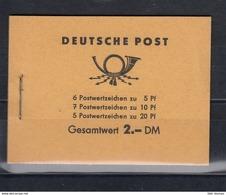 DDR Michel Kat.Nr. MH Postfr 3b2 - Booklets