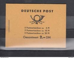 DDR Michel Kat.Nr. MH Postfr 3b1 - Booklets