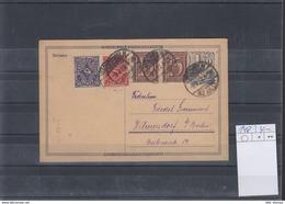 Deutsche Reich Michel Kat.Nr. GA  Gest P148 - Ganzsachen