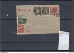 Deutsche Reich Michel Kat.Nr. GA  Gest K21 - Ganzsachen