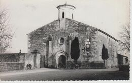 CPSM Liez - (Eglise Et Monument Aux Morts) - Avec Solex En Joli Plan - Francia