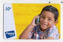 ANTILLES FRANCAISE PREPAYEE OUTREMER TELECOM PASS TELECOM - Antilles (Françaises)